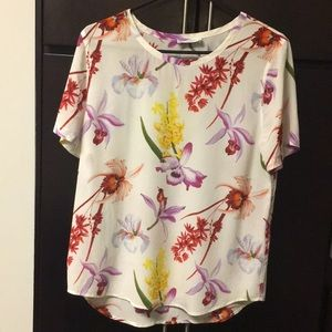 Equipment Riley Floral Silk Shirt